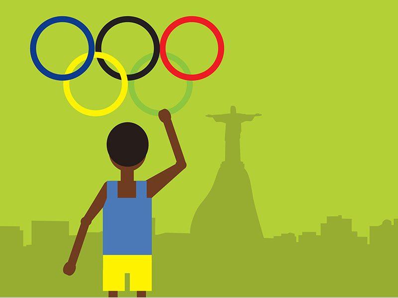 올림픽- 경기, 경쟁, 사투