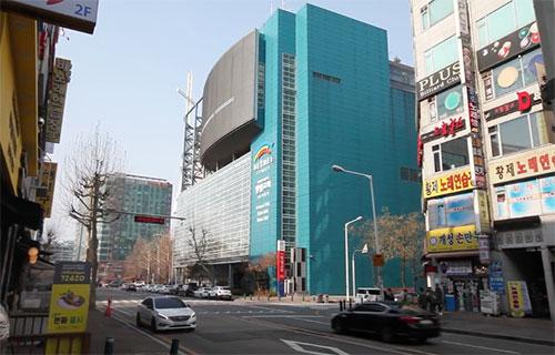 외부주차장 안내 – 일산